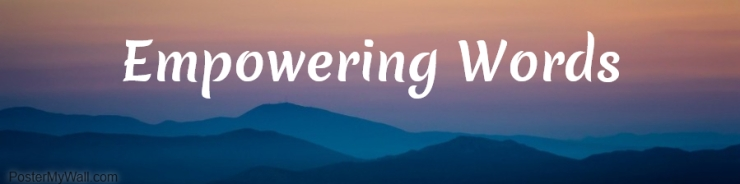 Empowering Words Banner
